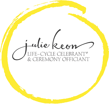 Julie Keon Certified Life Cycle Celebrant ® and Ceremony Officiant